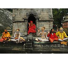 Sadhu convention Photographic Print