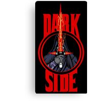 Dark Side Canvas Print