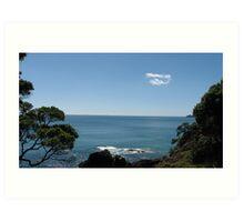 Ocean views Art Print