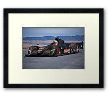 2007 Stohr WR 1 SCCA P1 Race Car Framed Print