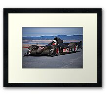 2007 Stohr WR 1 SCCA P1 Race Car Framed Print