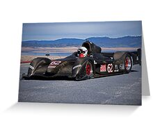 2007 Stohr WR 1 SCCA P1 Race Car Greeting Card