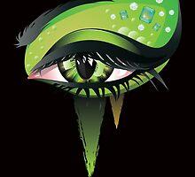 Carnival Vampire Eyes by AnnArtshock