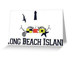 LBI - Long Beach Island NJ. Greeting Card
