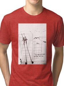 Together we stand, divided we fall Tri-blend T-Shirt