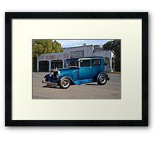 1929 Ford Model A Tudor Sedan Framed Print