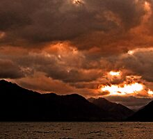 Queenstown Sunset by John Brotheridge