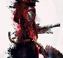 Bloodborne - Hunter by sunlightphaggot