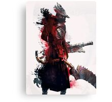 Bloodborne - Hunter Metal Print