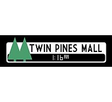 Twin Pines Mall logo (Back to the Future) Photographic Print