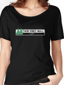 Twin Pines Mall logo (Back to the Future) Women's Relaxed Fit T-Shirt