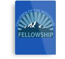 Children of the Mountain Fellowship Metal Print