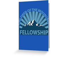 Children of the Mountain Fellowship Greeting Card