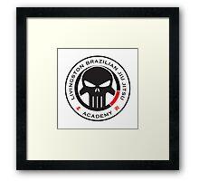 Livingston Brazilian Jiu Jitsu Academy Badge Framed Print