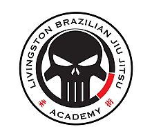 Livingston Brazilian Jiu Jitsu Academy Badge Photographic Print