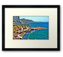 Sea Cliff Bridge -  Grand Pacific Drive - The HDR Experience Framed Print