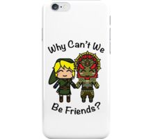 Link & Ganondorf iPhone Case/Skin