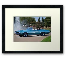 1970 Buick Grand Sport GS Convertible Framed Print