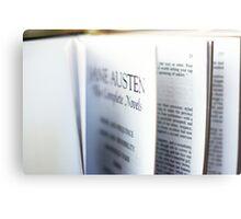 Jane Austen: Complete Works Metal Print