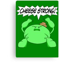 Sage Der-Bee Cheese Strong! Canvas Print