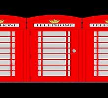 UK telephone box by masterchef-fr