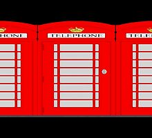 UK telephone box by masterchef-fr