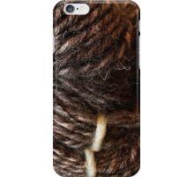 Handspun Jacob's Wool iPhone Case/Skin
