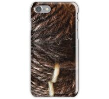 Handspun Jacob's Wool iPhone Case/Skin