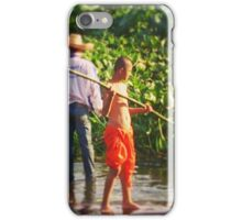 Buddhist monks in Chiang Mai, Thailand iPhone Case/Skin