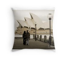 Love is in the air.. Throw Pillow
