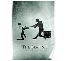 Funny The Beating Bass Player Poster