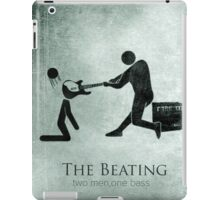 Funny The Beating Bass Player iPad Case/Skin
