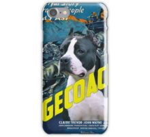 American Staffordshire Terrier Art Canvas Print - Stagecoach Movie Poster iPhone Case/Skin