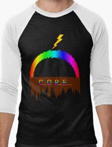 C O R E (Colours Of Rainbow Electrocuted) Men's Baseball ¾ T-Shirt