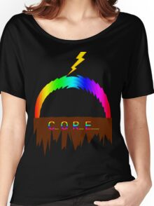 C O R E (Colours Of Rainbow Electrocuted) Women's Relaxed Fit T-Shirt
