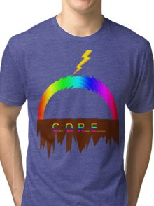 C O R E (Colours Of Rainbow Electrocuted) Tri-blend T-Shirt