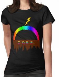 C O R E (Colours Of Rainbow Electrocuted) Womens Fitted T-Shirt