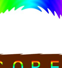 C O R E (Colours Of Rainbow Electrocuted) Sticker