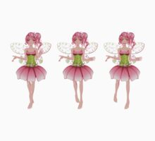 Floral Fairy 2 One Piece - Short Sleeve