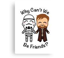 Stormtrooper & Obi-Wan Kenobi Canvas Print