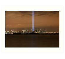 9/11 Memorial  New York Art Print