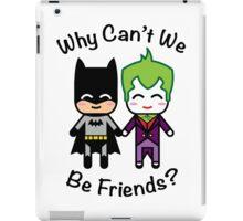 Batman & Joker iPad Case/Skin
