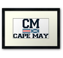 Cape May - New Jersey. Framed Print