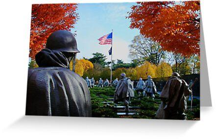 Korean War Memorial by GPMPhotography