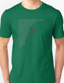 T11 Typography Climbing T-Shirt