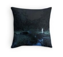 As I went down to the river... Throw Pillow