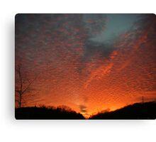 Nashville Sunset Canvas Print