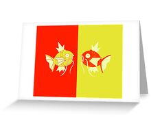Magikarp Art Greeting Card