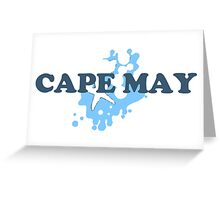 Cape May - New Jersey. Greeting Card