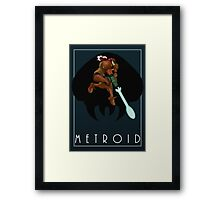 Metroid - Samus Framed Print